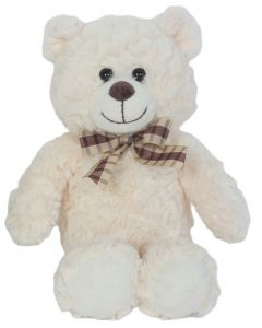 "9"" Mr. Softee Bear White"