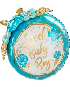 "36""Baby Boy Flowers"