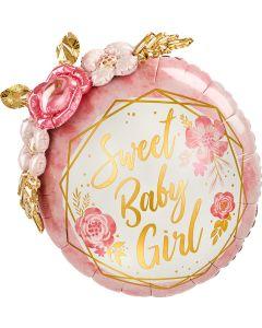 "36""Baby Girl Flowers"