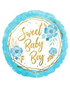 "18"" Sweet Baby Boy  Pkg"