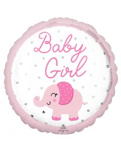 """18"""" Baby Girl Elephant  Pkg"""
