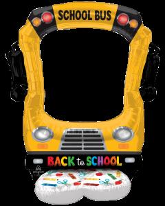 """56"""" Airloonz Selfie School Bus"""