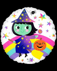 """18"""" Rainbow Witch"""