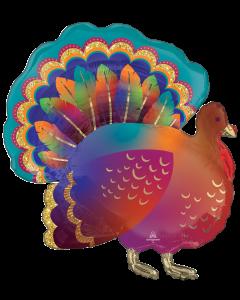 "32"" Thanksgiving Glitter Turkey"