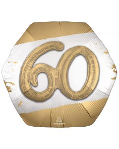 "23"" Golden 60th Satin"