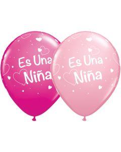 """11"""" Es Una Nino Stars Assort 50ct"""