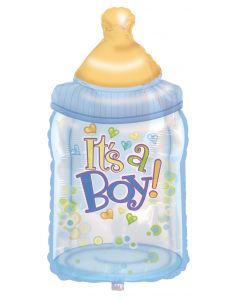 "38"" It's A Boy Baby Bottles"