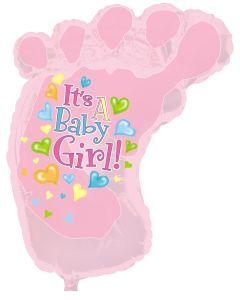 """38"""" Baby Girl Foot"""