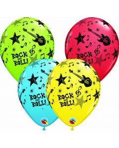 "11"" Rock & Roll Stars 50ct--"