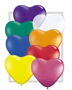 """6"""" Heart Jewel Assort 100ct"""