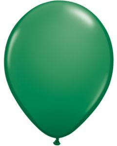 "11""Green 100ct"