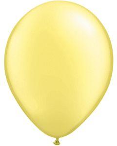 "11""Pearl Lemon Chiffon 100ct"