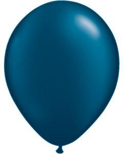 """11"""" Pearl Midnight Blue 100ct"""
