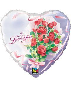 "18"" Love Floral Watecolor"