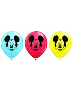 "5"" Mickey Mouse Face 100ct"