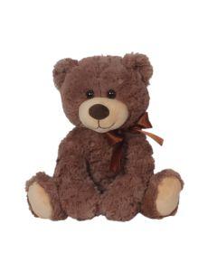 """10"""" Buttons Bear Brown"""