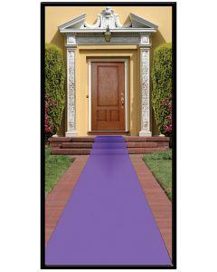 "15'x24"" Purple Carpet Runner"