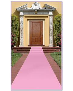 15' Pink Carpet Runner