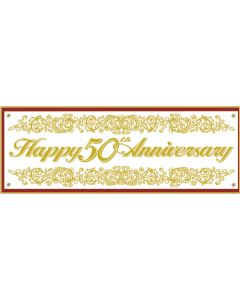5' 50th Anniversary Banner