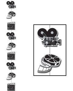 6' Movie Set Stringer