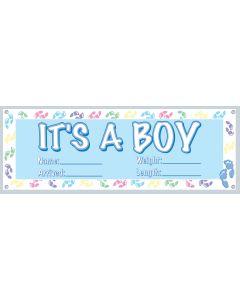 "63"" It's A Boy Banner"