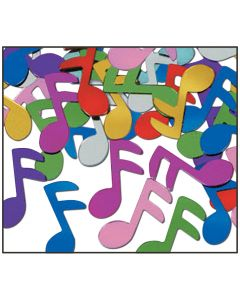 Music Note Confetti - Multi Color
