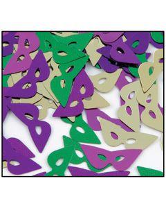 Mardi Gras Masks Confetti