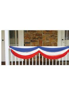 5' Patriotic Fabric Bunting