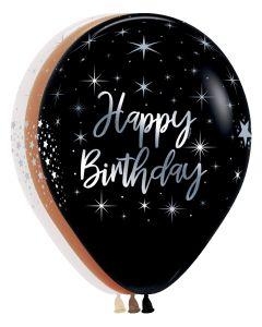 "11"" Radiant Happy Birthday"