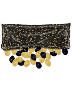 "Gold Star Balloon Bag 36""x80"""