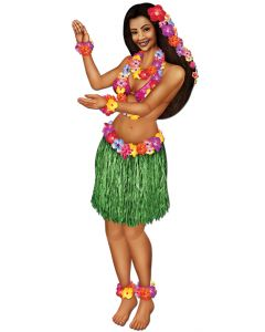 3' Jointed Hula Girl
