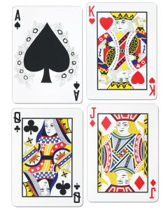 "18"" Playing Card Cutouts"