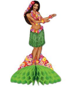 Hula Girl Centerpiece