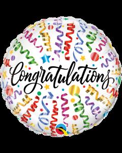 "18"" Congrats Streamers Pkg"