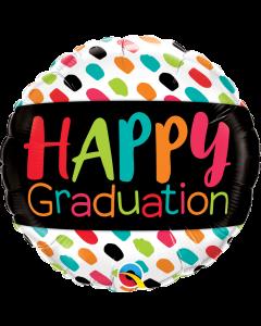 "18"" Happy Graduation Colors"