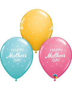 """11"""" Mom's Day Petite Dots 50ct"""