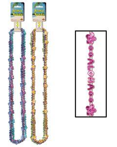 """36"""" Aloha Beads 3ct"""