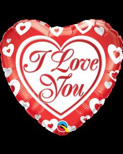 "18"" Love You Hearts"