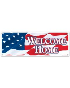 5'  Welcome Home Banner