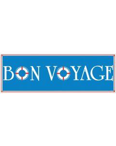 5' Bon Voyage Banner