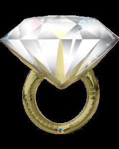 "37"" Big Rock Wedding Ring Pkg"