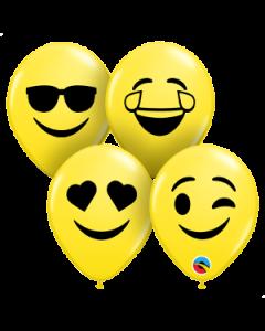 "5"" Smile Face Asst. 100ct"