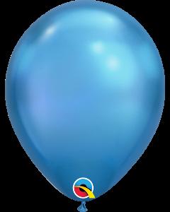 """11"""" Chrome Blue 100ct"""