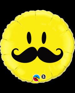 "18"" Smile Face Mustache"