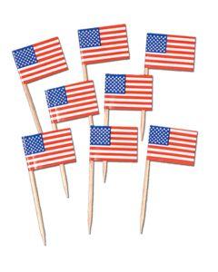 US Flag Picks 50ct