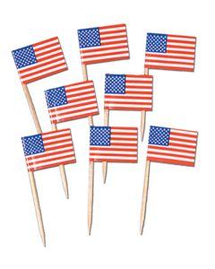 American Flag Picks  144ct