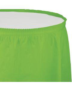 """Lime Table Skirt 13'x29"""""""