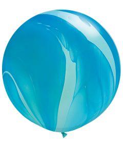 "30"" Blue Agate 1ct"