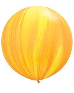 "30"" Yellow/Orange Agate 1ct"