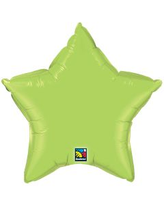 """4""""Lime Green Star"""
